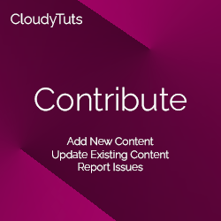Contribute to CloudyTuts